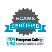 Certificado European College of Aesthetic Medicine & Surgery ECAMS